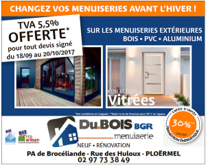 OFFRE MENUISERIES